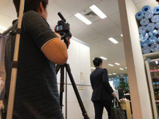 顔認証システムの動画動画を制作