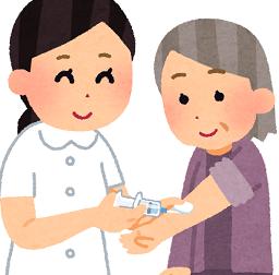 ワクチン接種の予約でバタバタ