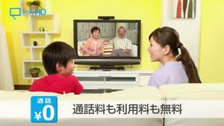 テレビ電話 サンプル映像